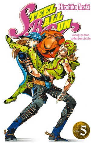 Jojo's Bizarre Adventure - Part.7 - Steel Ball Run T.05 | 9782759509607