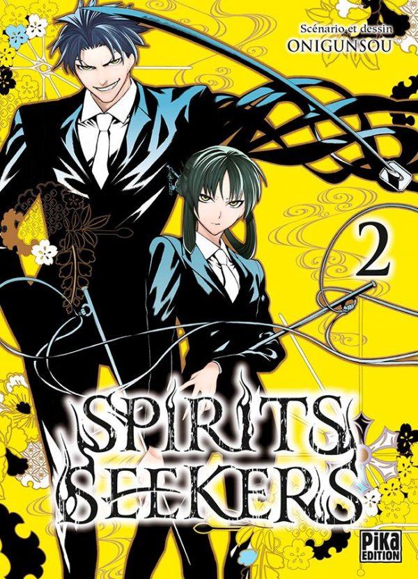 Spirits seekers T.02 | 9782811631260