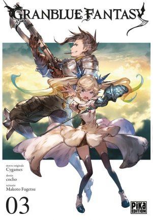 Granblue Fantasy T.03 | 9782811644970