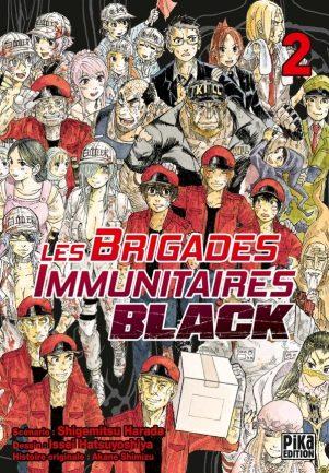Brigades Immunutaires Black  T.02 | 9782811649951