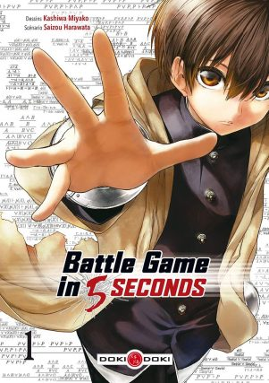 Battle game in 5 secondes T.01 | 9782818949702