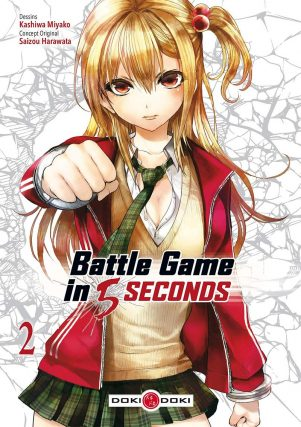 Battle game in 5 secondes T.02 | 9782818949719