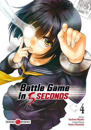 Battle game in 5 secondes T.04 | 9782818966273