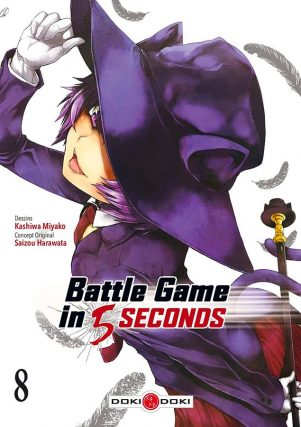 Battle game in 5 secondes T.08 | 9782818968475