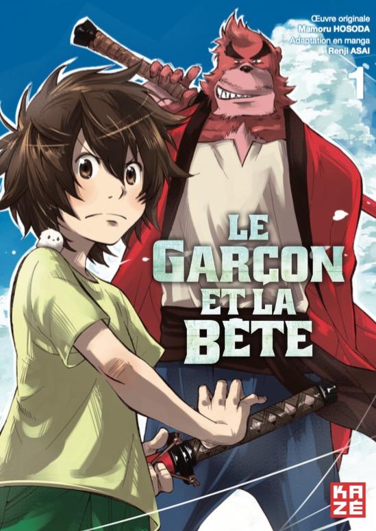 Garcon et la Bete (Le) T.01   9782820322920