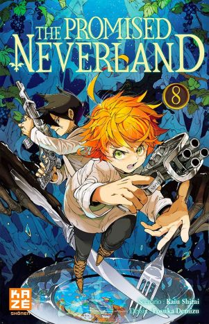 Promised Neverland (The) T.08 | 9782820335517