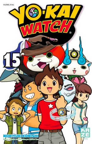YoKai Watch T.15 | 9782820336286