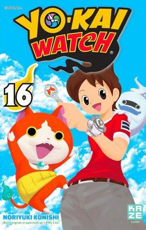 YoKai Watch T.16 | 9782820337665