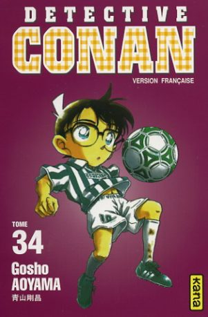 Detective Conan T.34 | 9782871295068