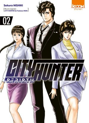 City Hunter - Rebirth  T.02 | 9791032704691