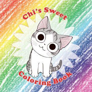 Chi's sweet coloring book (EN) | 9781945054655