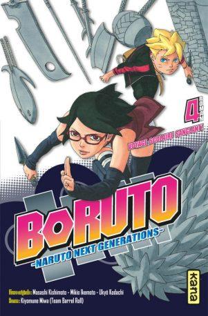 Boruto - Roman T.04 | 9782505075868