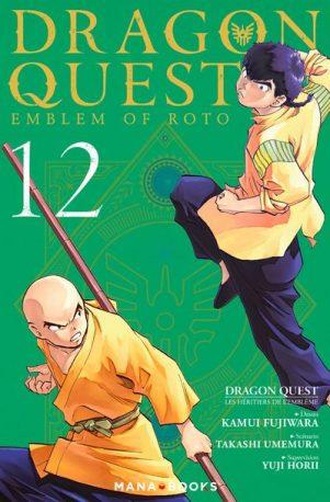 Dragon quest - emblem of roto- les héritiers de l'emblème T.12 | 9791035501716