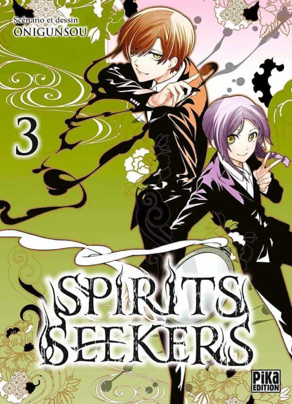 Spirits seekers  T.03 | 9782811653675