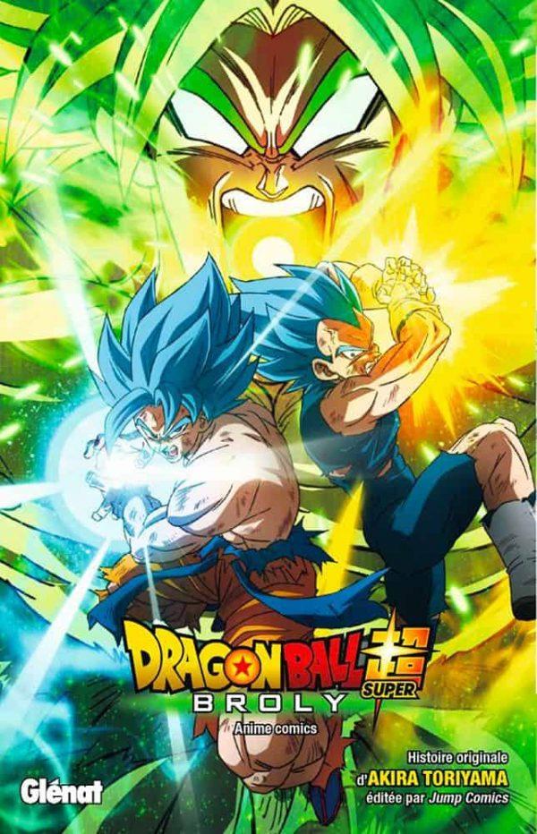 Dragon Ball Super: Broly - anime comics | 9782344041123