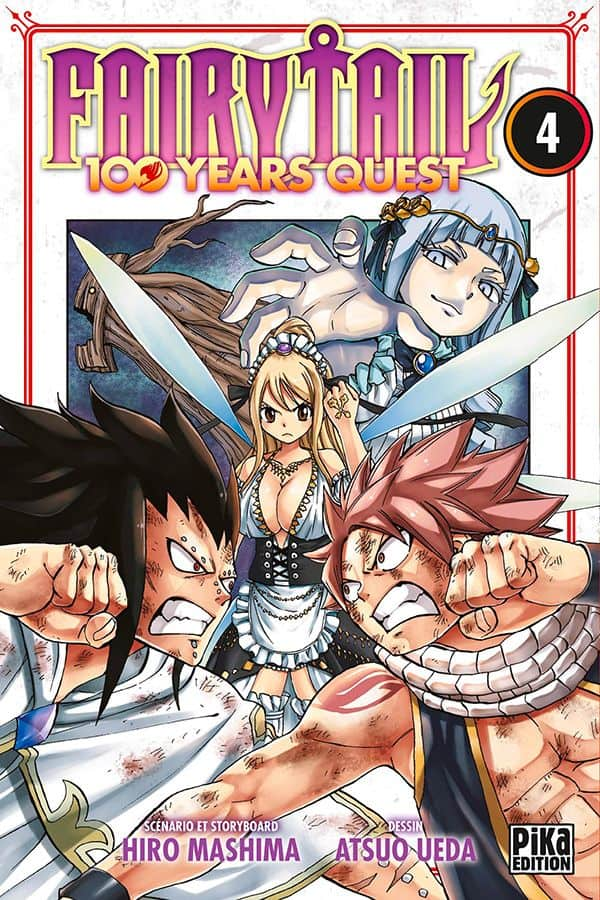 Fairy tail - 100 years quest  T.04 | 9782811652319