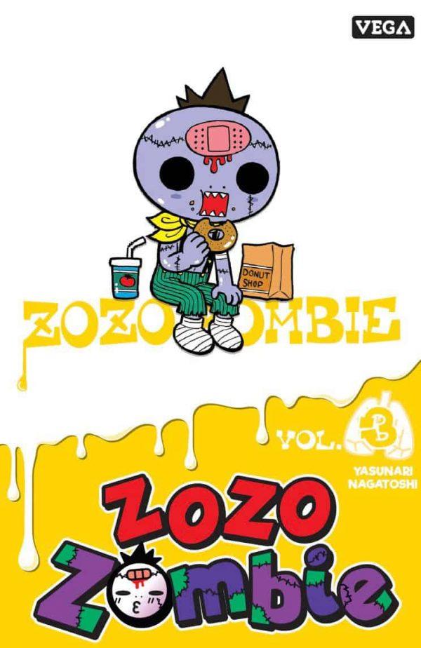 ZOZO ZOMBIE T.03   9782379500589