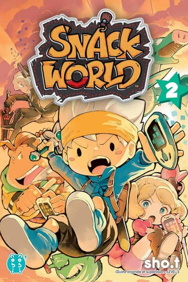 Snack world T.02 | 9782373494495