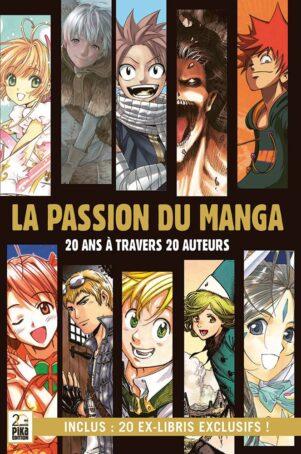Passion du manga (La) - 20 ans a travers 20 auteurs | 9782811654627