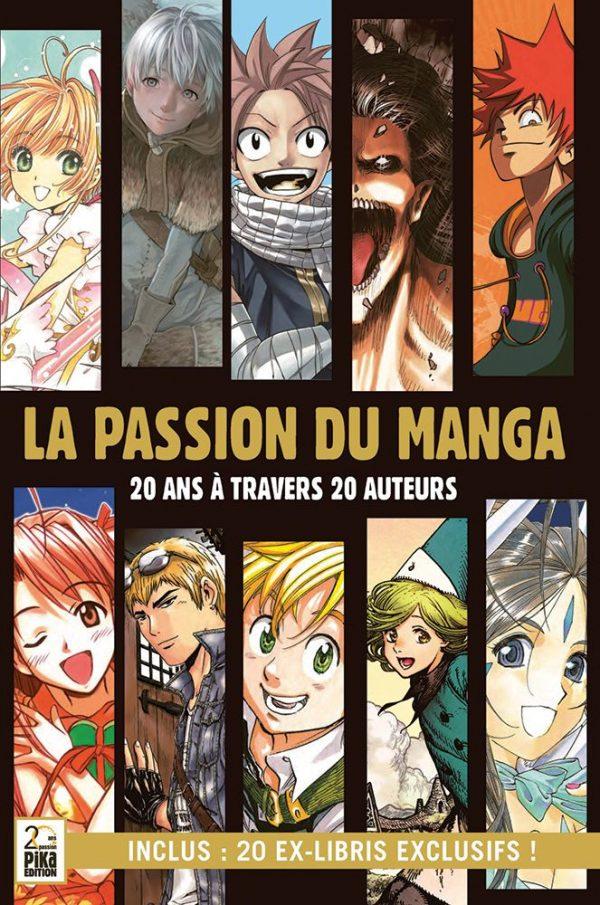 Passion du manga (La) - 20 ans a travers 20 auteurs   9782811654627