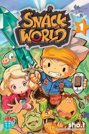 Snack world T.01 | 9782373494488