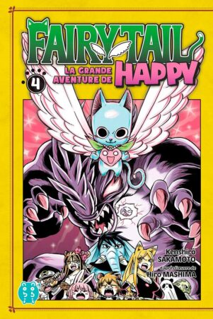Grande Aventure de Happy (La) - Fairy tail T.04 | 9782373494594