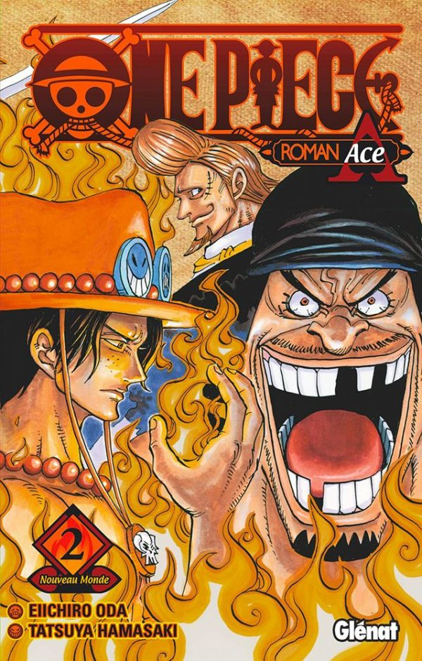 One Piece - Roman T.03 Roman Ace - 02 | 9782344040423