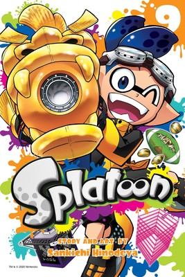 Splatoon (EN) T.09 | 9781974713349