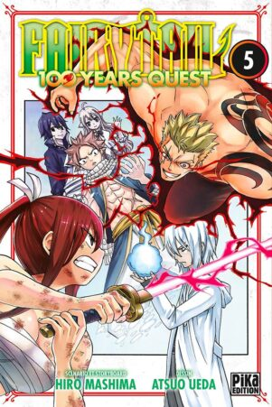 Fairy tail - 100 years quest  T.05 | 9782811655600