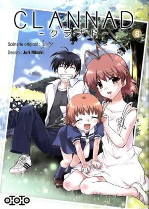 Clannad T.08 | 9782351807248