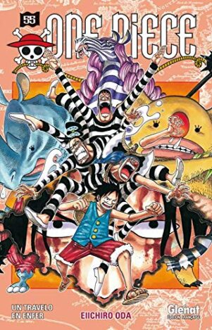 One Piece - Ed. blanche  T.55 | 9782723474993