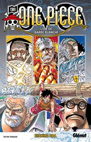 One Piece - Ed. blanche T.58 | 9782723483506