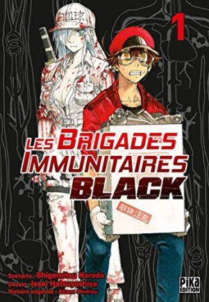 Brigades Immunutaires Black  T.01 | 9782811649449