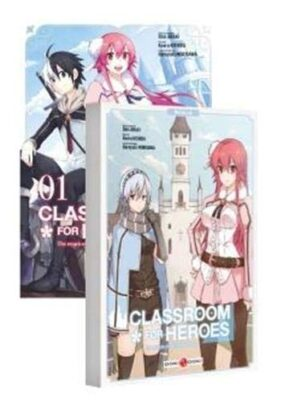 Classroom For Heroes T.01+Notebook | 9782818974919