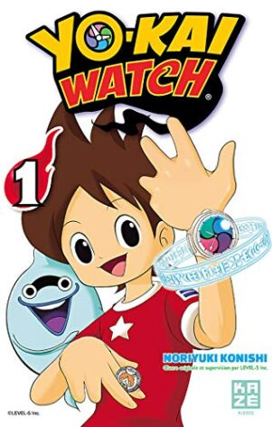 YoKai Watch T.01 | 9782820326003