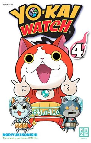 YoKai Watch T.04 | 9782820328205