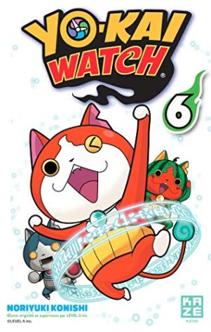 YoKai Watch T.06 | 9782820328632