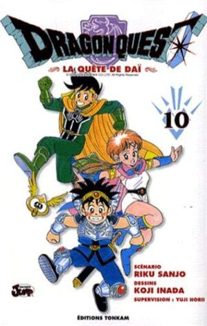 Dragon Quest - La Quete de Dai T.10 | 9782845808423