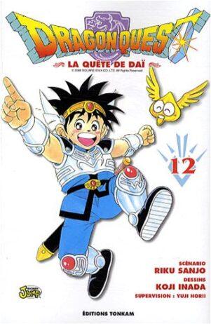 Dragon Quest - La Quete de Dai T.12   9782845808447