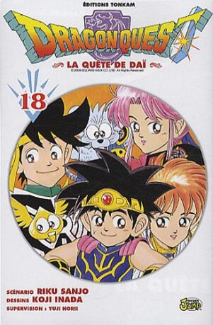 Dragon Quest - La Quete de Dai T.18 | 9782845808508