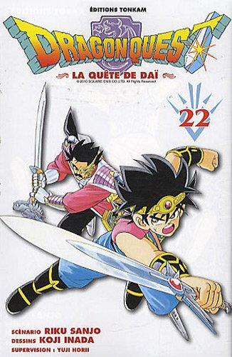 Dragon Quest - La Quete de Dai T.22   9782845808546
