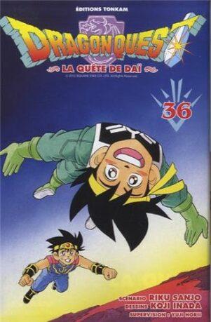 Dragon Quest - La Quete de Dai T.36   9782845808683