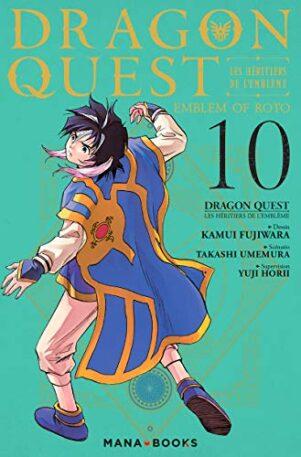 Dragon quest - emblem of roto- les héritiers de l'emblème T.10 | 9791035501471