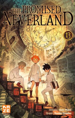 Promised Neverland (The) T.13 | 9782820337955