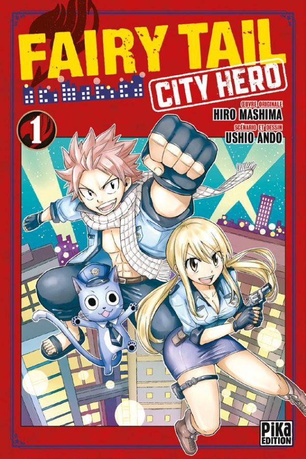 Fairy Tail - City Hero T.01 | 9782811650230