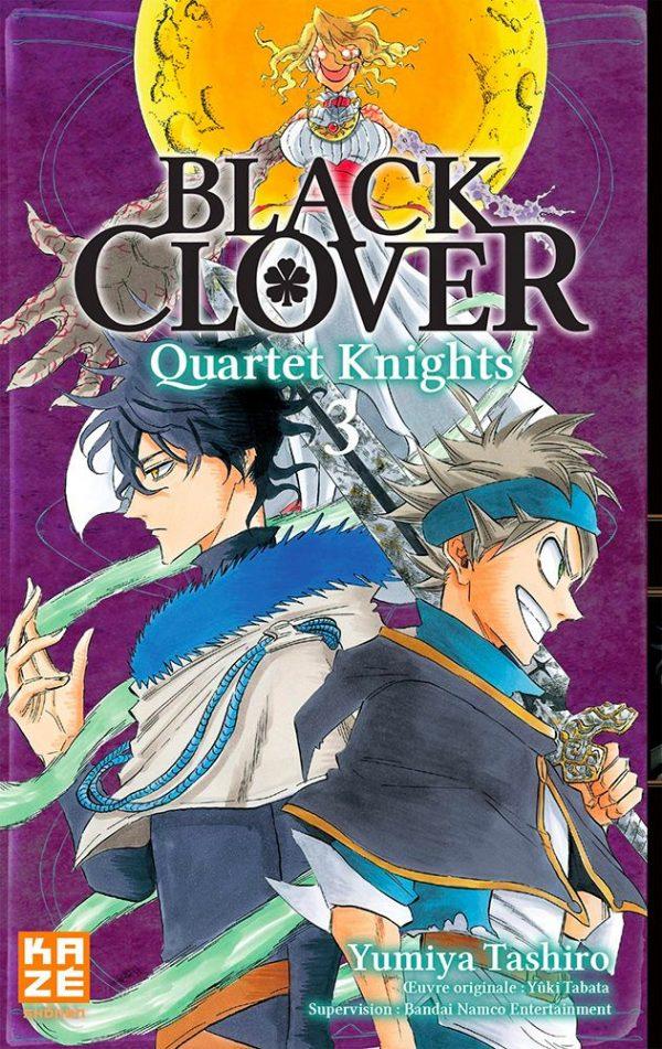 Black Clover - Quartet Knights T.03 | 9782820337771