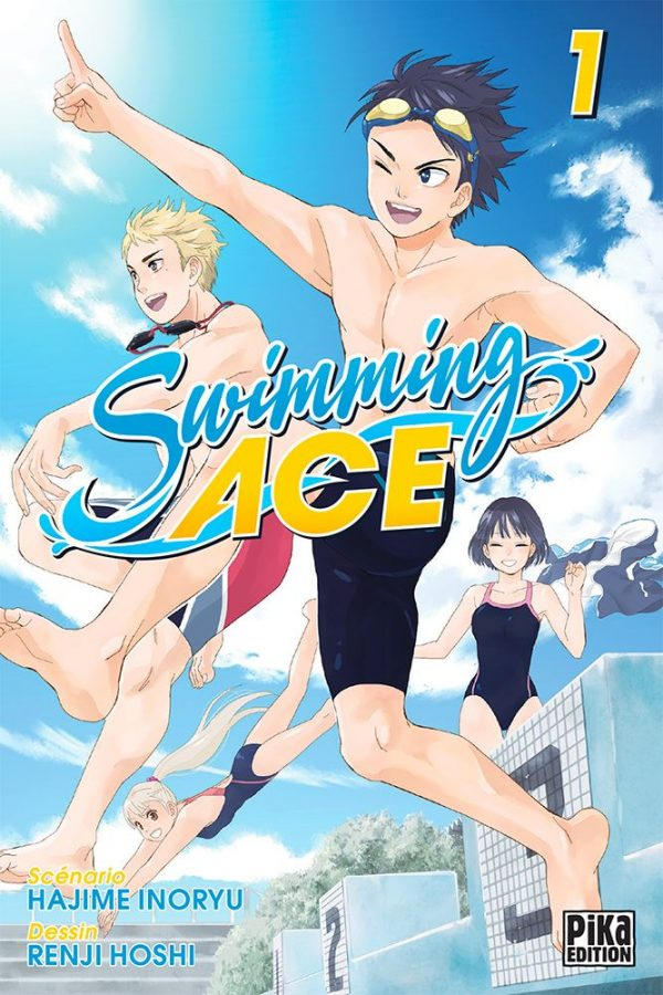 Swimming Ace  T.01 | 9782811650001