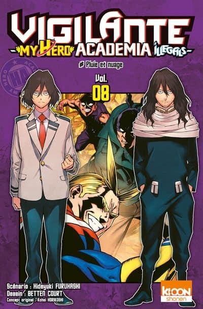 My hero academia - Vigilante  T.08   9791032706244