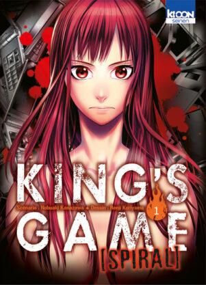 King's Game Spiral T.01   9782355929625