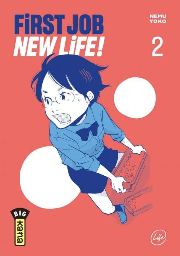 First job, new life T.02 | 9782505080985